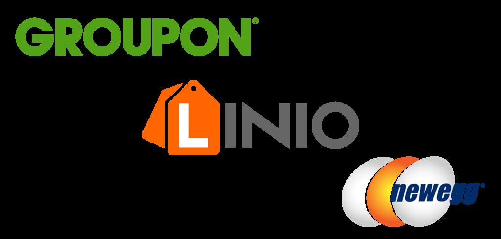 Groupon, Linio, Newegg
